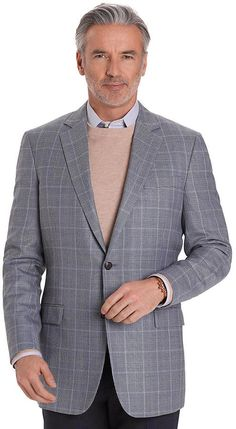 Fitzgerald Fit Two-Button Check Sport Coat