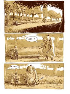 Profound Comic: 'A Day at the Park' by Kostas Kiriakakis | High Existence