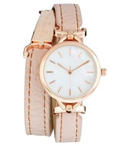 River Island | River Island Laugh Love Life Wrap Watch at ASOS