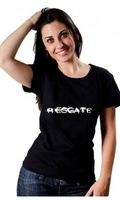 Camiseta Banda Resgate por apenas R$37.50
