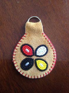 Beaded key chain! Carmen Dennis (Tahltan)