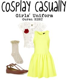 Cosplay Casually Ouran High School Host Club!!!!!!!THIS IS ACTUALLY PRETTY! THE REAL COSPLAY COSTUME WOULD BE UGLY