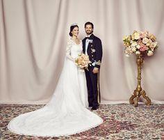Royal Wedding Prince Carl Philip and Princess Sofia Lace Wedding Dress, 2015 Wedding Dresses, Long Sleeve Wedding, Wedding Bride, Wedding Gowns, Bride Groom, Wedding 2015, Formal Wedding, Bride Dresses