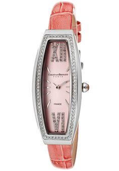 Price:$88.39 #watches #ChristianBernard WA640ZSD, With a sleek, classy design, this Christian Bernard makes an elegant addition to a lady's wardrobe.