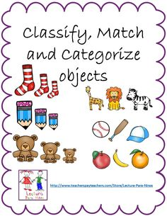 Classify, Match & Categorize objects:  These go along with Eureka Math Lessons 1-5.  My kids had so much fun playing these games!