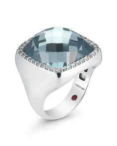 Roberto Coin Square Cocktail Ring. Available at Hingham Jewelers!