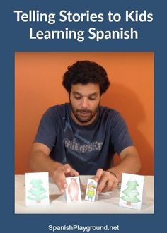 Telling stories in Spanish is a fun, effective way to teach kids. Examples of simple stories with text and videos. Tips for telling stories in Spanish.
