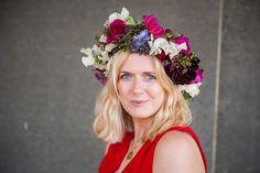 Flower Crown Bride, Most Beautiful, September, Joy, Flowers, Being Happy, Flower, Blossoms