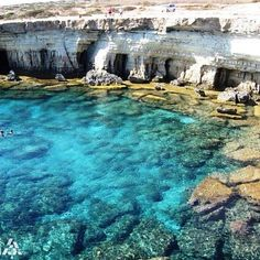 LEBANON, SOUTH, NAQOURA CLIFFS WITH CAVES...LOVE IT