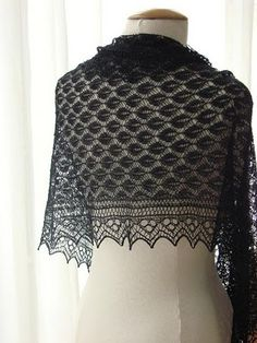 A passion for knitted Lace: Truely Something.