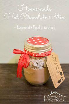 Homemade Hot Chocolate Mix Recipe: Super creamy and delicious!