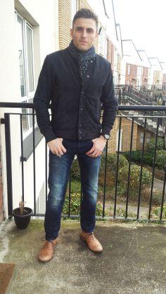 Marc Newson Jacket, Gstar Jeans, Next Shoes