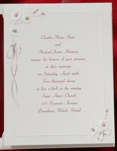 A Bride Is As Exquisite As A Lily On Her Wedding Day. For Me, The Calla  Lily Wedding Invitations   From The Budget Wedding Invitations Line Exudes  A Brides ...