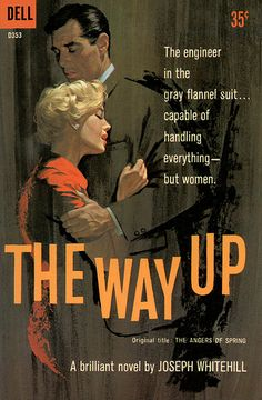 """The Way Up"" now that's cool illustration, probably better than the book deserved, but artists need bread."