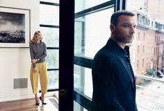 Ray Donovan Star Liev Schreiber and Doutzen Kroes in City-Weekend Looks - Magazine
