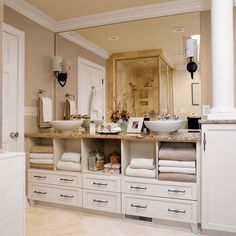 Hide the Plumbing - 65 Calming Bathroom Retreats - Southern Living