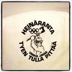 #heinäranta #heinärannanolympialaiset #vintage #retro #Tpaita  #Tshirt .