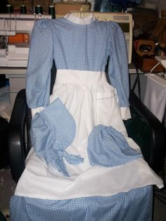 PIONEER DRESSES( 9 styles to choose from), Bonnets, Pinafores, Nightgowns for GIRLS(their dolls) and MOM/Pioneer shirts,Vest, knickers for BOYS