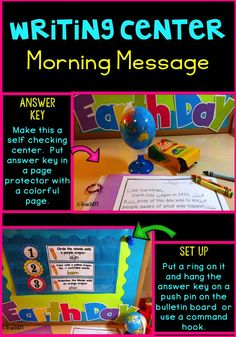 Tips for setting up Morning Message as a center.  Continually reviewing skills in this format helps them stick better than other approaches that I have tried.  Freebie and $