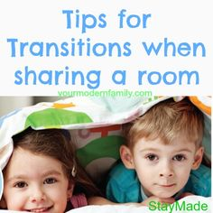 Transitions with sharing a room for kids