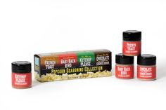 Wabash Valley Farms 77307:  On The Edge Popcorn Seasoning Collection - NEW French Toast, Cookie Dough, Ketchup, Baby Back Ribs