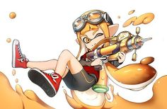 Inkling splatoon