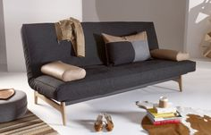 ASLAK SOFA BED, with Soft Spring mattress