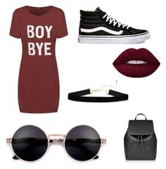 Casual by Todels on Polyvore featuring polyvore fashion style Vans clothing