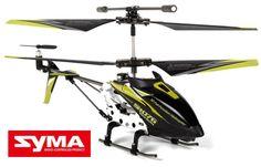 Syma GYRO S107G Black Series 3.5CH IR Electric RTF RC Helictoper