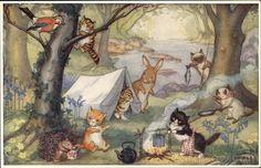 Kittens' Camp by Molly Brett