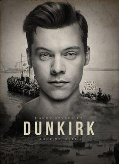 #Dunkirk poster featuring @Harry_Styles via @hazstylestrash