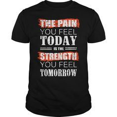 THE PAIN  Funny Gym T-shirts will put you in a good mood for your workout.  Fitness, Workout, Running, Biking, Yoga, Muscles, Lifting, Gym, Womens, Mens, Funny, Cross Training, Hoodies, T-Shirts, Tank Tops, Tees, Quotes, Sayings