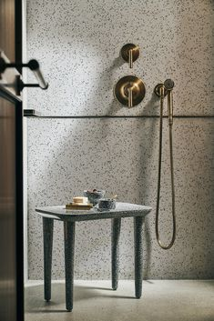 Joyce Wang Studio has created a range of limited-edition furniture and homeware to prove there is more to terrazzo than kitchen and bathroom surfaces. Bathroom Toilets, Bathroom Sets, Modern Bathroom, Bathroom Inspo, Beautiful Bathrooms, Terrazzo Flooring, Bathroom Flooring, Bathroom Interior Design, Home Interior