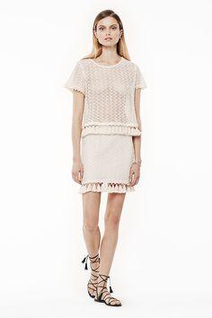 Anine Bing - top & skirt