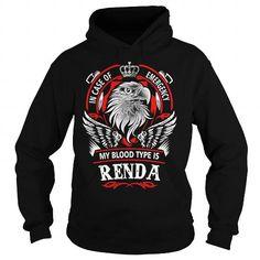 Cool RENDA, RENDAYear, RENDABirthday, RENDAHoodie, RENDAName, RENDAHoodies T shirts