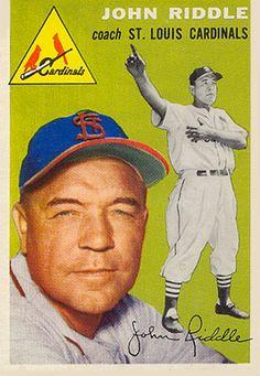 1954 Topps John Riddle #147 Baseball Card                                                                                                                                                     More