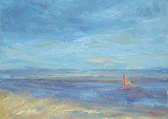 Autumn Sail, Lisa Ridabock,16 x 20, oil www.lisaridabock.com facebook.com/lisaridabockfineart