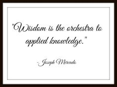 Wisdom Is The Orchestra - Digital Influence Calligraphy Quote - Instant Delivery! by MasterMindWisdom on Etsy