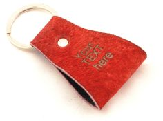 custom leather keychain, custom leather keyring, cheap gifts, corporate gifts, wedding favors, laser engraving, personalized key fob by CozyDetailz on Etsy