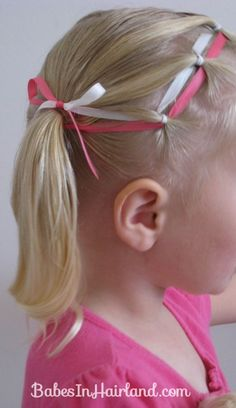 Ponies & Ribbon Hairstyle (16)