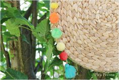 Pica Pecosa: Haz el bolso del verano DIY con dos manteles individuales reciclados de Ikea Straw Bag, Ikea, Couture, Strands, Diy And Crafts, How To Make Bags, Crafts To Make, Beach Bags, Satchel Handbags