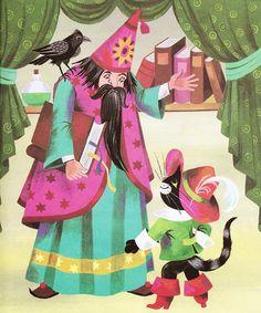 'Puss in Boots' by Gisela Gottschlich [Pestalozzi Verlag]