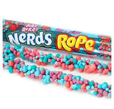 Wonka Very Berry Nerds Rope Candy Packs: Box Bulk Candy, Candy Store, Nerds Rope, Gum Flavors, Nerds Candy, Junk Food Snacks, Candy Brands, Sour Candy, Favorite Candy