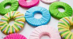 Ribbon Wrapped Washers for Pattern Weights - SewFearless.com