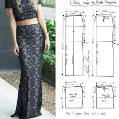 Dress Sewing Patterns, Clothing Patterns, Tie Skirt, Fashion Vocabulary, Diy Fashion, Fashion Design, Sewing Projects For Beginners, Sewing Techniques, Sewing Clothes