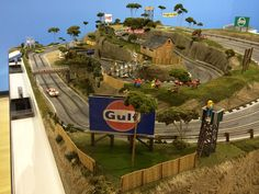Standard Scenic Raceway — 6'x12' (made to order) | Slot Mods Raceways