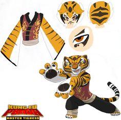 kung fu panda tigress google search - Kung Fu Panda Halloween