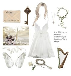 """""""Stairway to Heaven"""" by angelfatale ❤ liked on Polyvore featuring Myla and Effy Jewelry"""