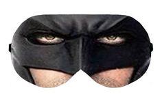 Batman Super Hero DC Cartoon Sleep Sleeping Eye Night Mask Masks Blindfold cover shade patch Slumber Eyemask Sleepmask Eyewear Present Gift by venderstore on Etsy