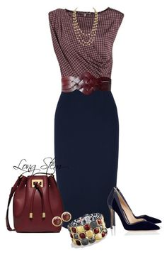 """08/12/15"" by longstem ❤ liked on Polyvore featuring Anna Field, Roland Mouret, Gianvito Rossi, Michael Kors, Chanel, Linea Pelle, David Yurman and Victoria Townsend"